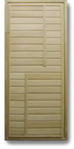 Дверь банная глухая 1800х700мм ТИП 4