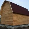 Каркасный дом с мансардной крышей