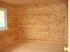 Брусовая баня профилированного бруса 6.5x7.2 м