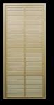 Дверь банная глухая 1800х700мм ТИП 1