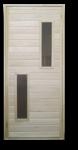 Дверь банная со стеклом 1800х700мм ТИП 2