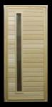 Дверь банная со стеклом 1800х700мм ТИП 5