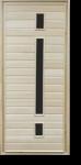 Дверь банная со стеклом 1800х700мм ТИП 6